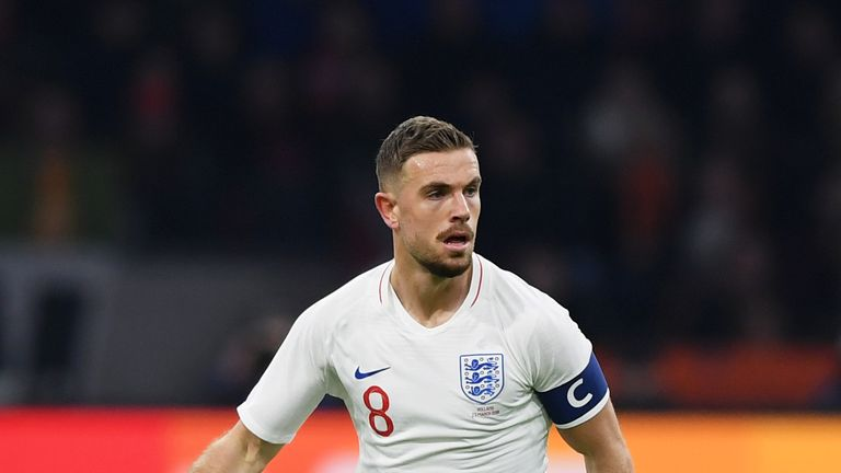 Will Jordan Henderson be England captain in Russia?