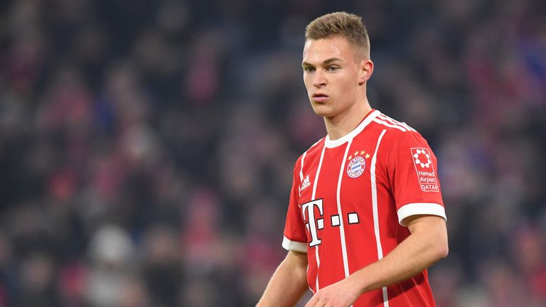Joshua Kimmich scored Bayern's opener - but they did not build on their lead