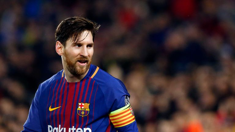 Lionel Messi has been at Barcelona since the age of 13