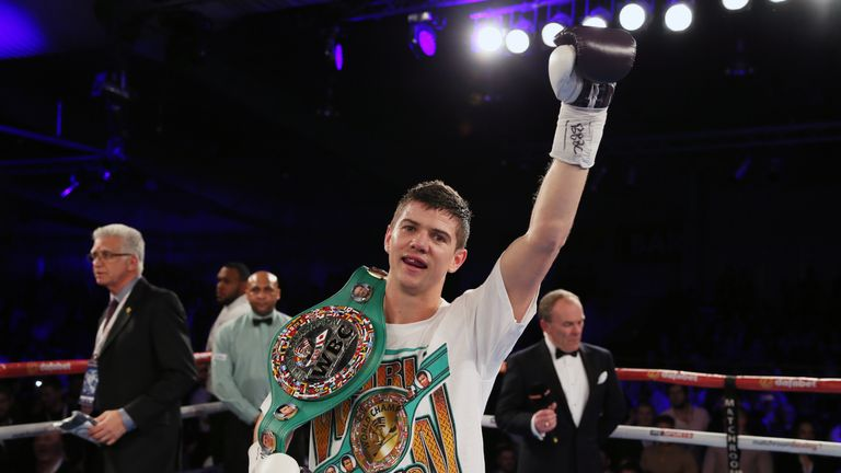 Luke Campbell is among an exciting crop of lightweights in Britain