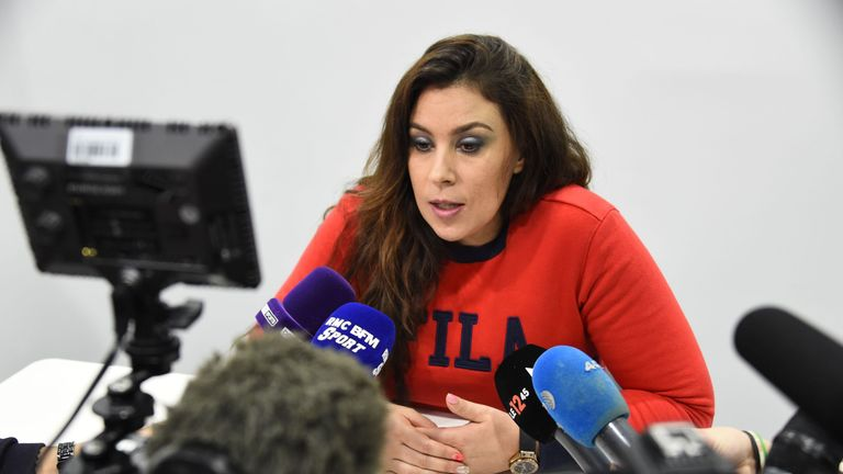 Bartoli announced her professional comeback after a four-year absence