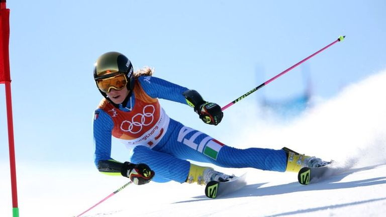 Fifth in the Giant Slalom and 10th in the Combination was a fine return for Marta