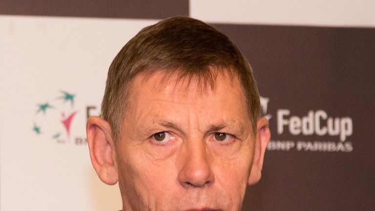 Martin Corrie has chosen to temporarily step down as LTA president