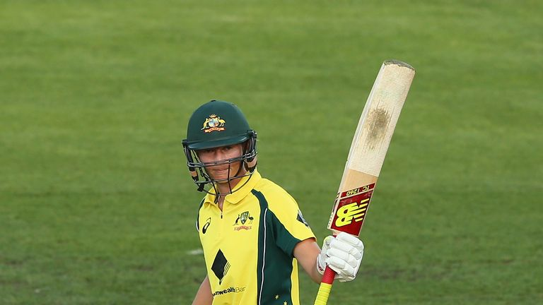Meg Lanning is the only women's player to score 11 ODI centuries