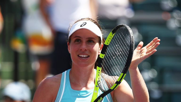 Konta set for Venus Williams showdown in Miami