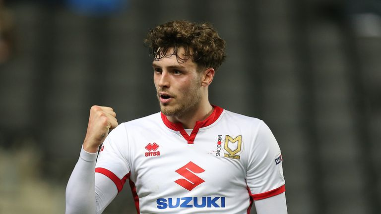 Robbie Muirhead scored twice for MK Dons as they beat Rotherham