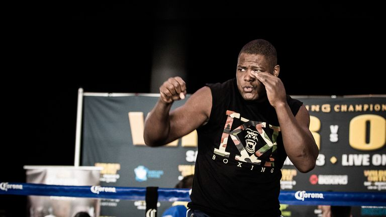 Luis Ortiz  is promising to knock out Deontay Wilder (Showtime)