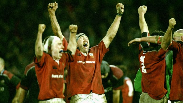 Munster's 31-30 victory over Saracens in January 2000 left an impression on a young Ryan