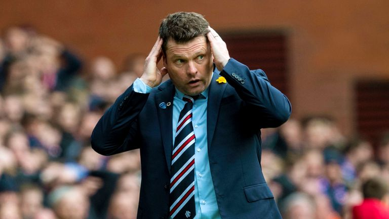 Rangers v Celtic: Derby may be Graeme Murty's 'biggest moment'