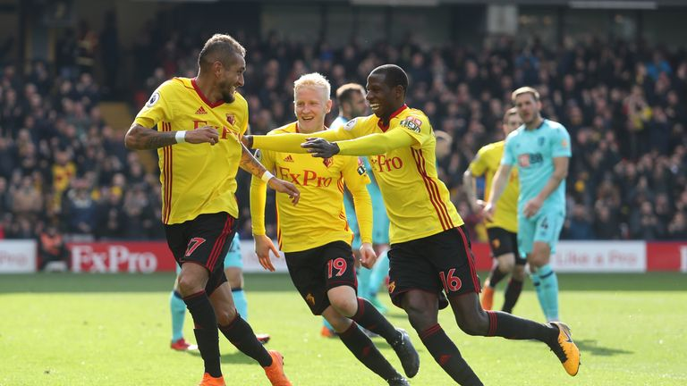 Watford have had 16 different goalscorers this season