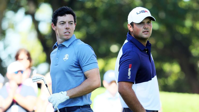 McIlroy faced Reed in the Sunday singles during the 2016 Ryder Cup