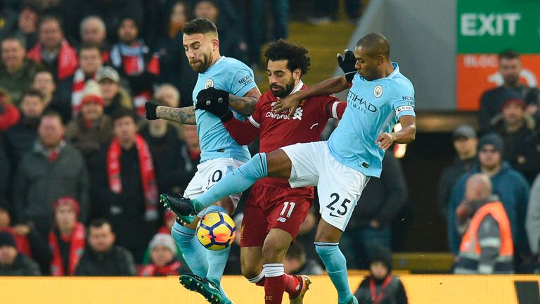 This will be the third meeting between Liverpool and Man City this season