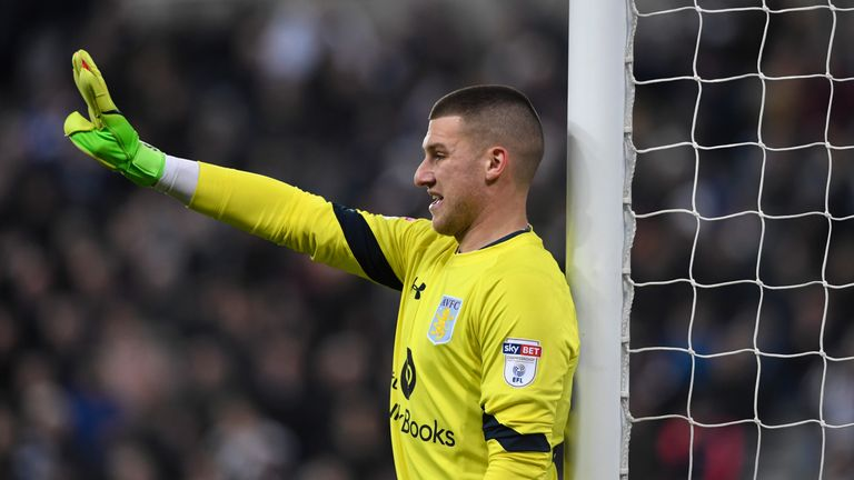 West Brom are close to signing goalkeeper Sam Johnstone from Man United