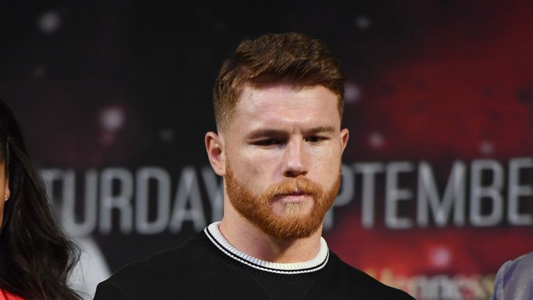 Saul 'Canelo' Alvarez is facing a possible suspension