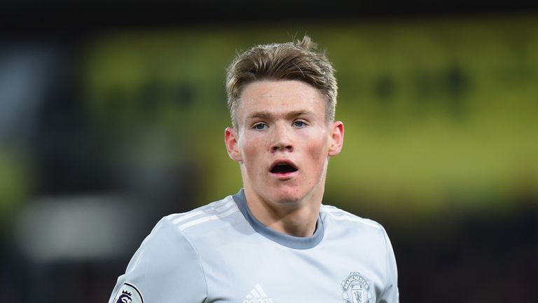 McTominay has been called up to Alex McLeish's Scotland squad