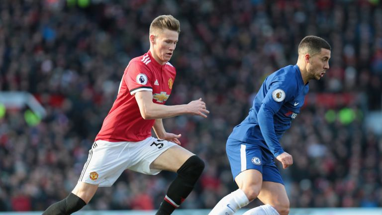 Scott McTominay's international status remains up for grabs
