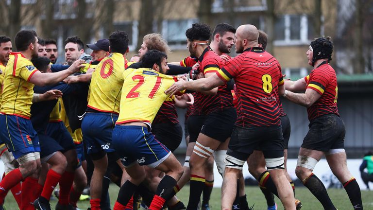 Spain round on Romanian referee after rugby World Cup qualifier loss