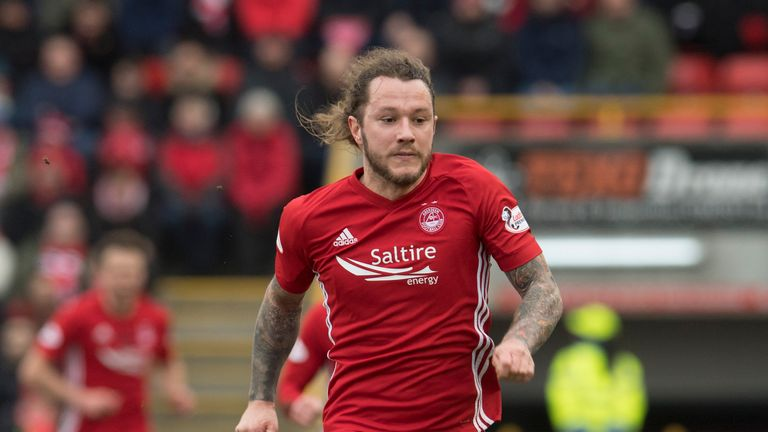 Stevie May hasn't scored for Aberdeen since the win against Kilmarnock in November.