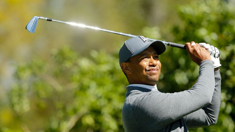 Tiger Woods thrilled the fans with a vintage display in Tampa