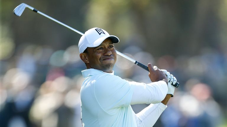 Woods made four birdies but dropped a shot on his final hole