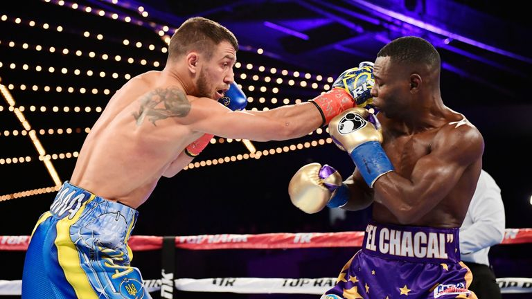 Lomachenko stopped pound-for-pound rival Guillermo Rigondeaux in December