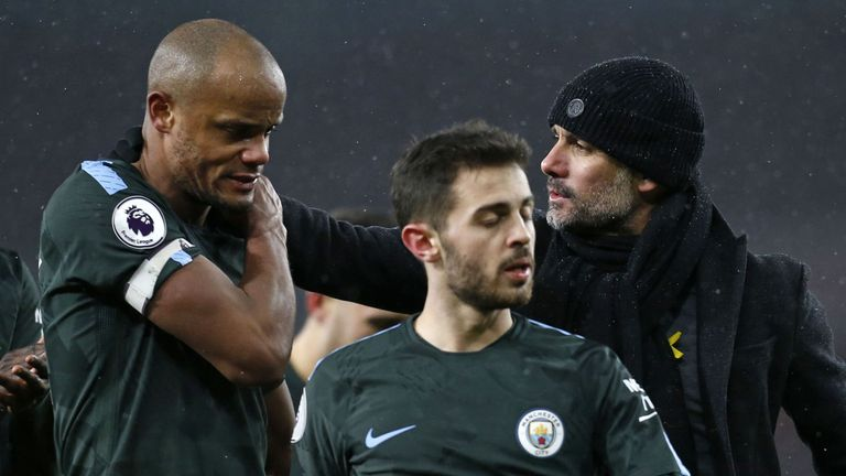 Silva says Pep Guardiola's style of football has encouraged him to thrive