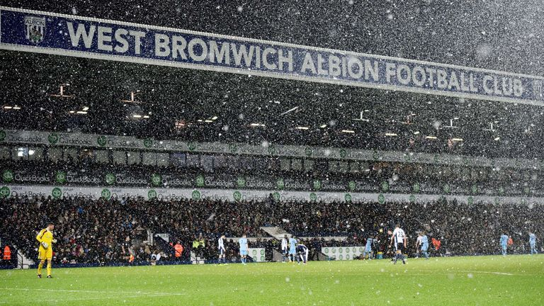 It has been a long winter at relegation-threatened West Bromwich Albion
