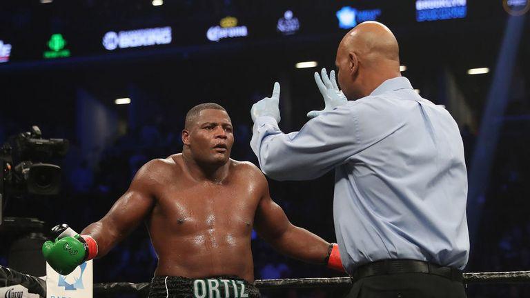 Wilder had plenty of praise and respect for Ortiz