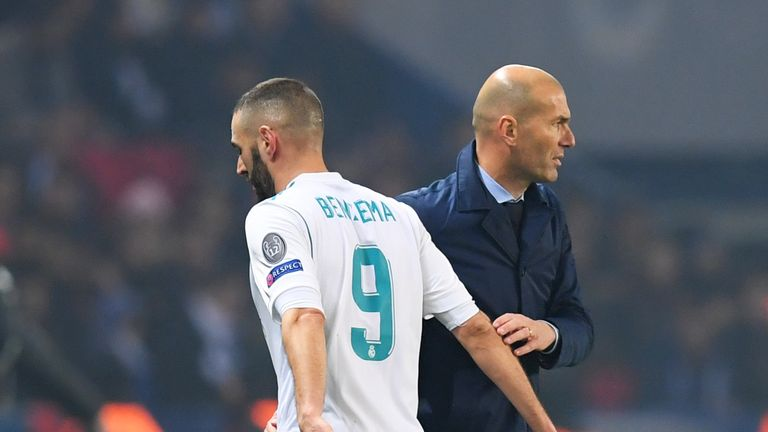Karim Benzema (left) has struggled for goals this season