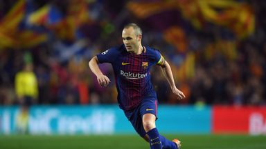 Andres Iniesta Says He Will Make A Decision On His Barcelona Future In The Next Few