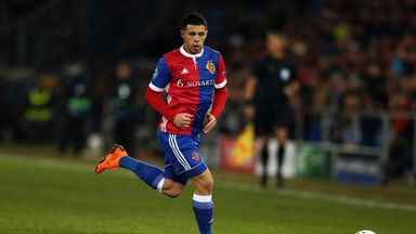 Basel left-back Blas Riveros is attracting attention
