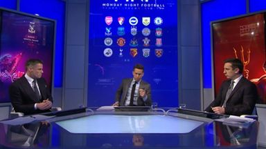 fifa live scores - MNF review: Monday Night Football with Jamie Carragher and Gary Neville