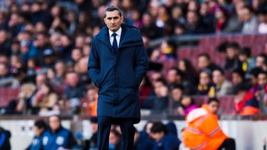 fifa live scores - Barcelona manager Ernesto Valverde says there will be no let up from his side in title chase