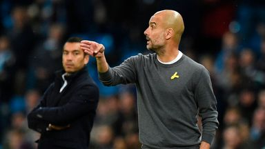 fifa live scores - Pep Guardiola fined £20,000 by FA after wearing yellow ribbon