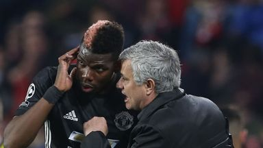 Jose Mourinho says Paul Pogba's recovery from injury has been good