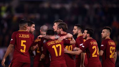 Roma boosted their Champions League qualification hopes with victory over Torino
