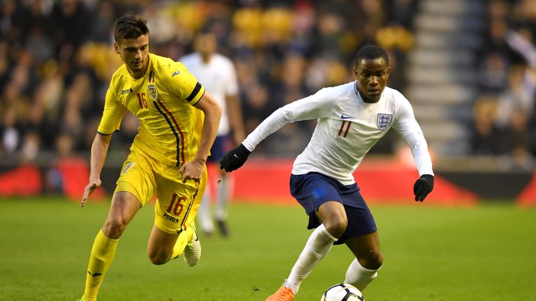 Ademola Lookman assisted the first and was a threat throughout for England