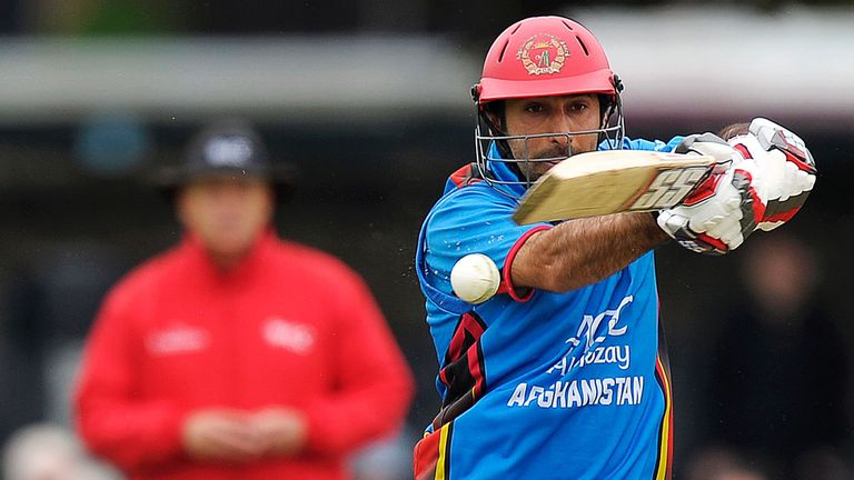 Afghanistan captain Asghar Stanikzai struck the winning runs to confirm their qualification through to the 2019 Cricket World Cup