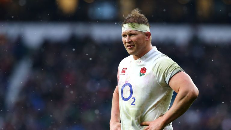 England's Dylan Hartley during the NatWest Six Nations match against Ireland at Twickenham Stadium on March 17, 2018