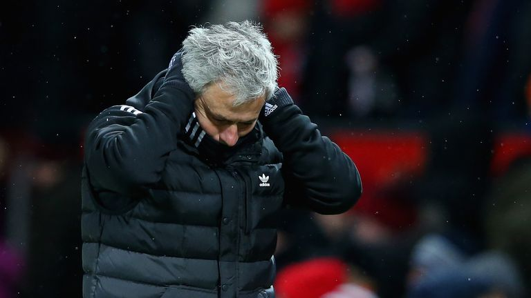 Jose Mourinho was disappointed with the team's overall display on Saturday night
