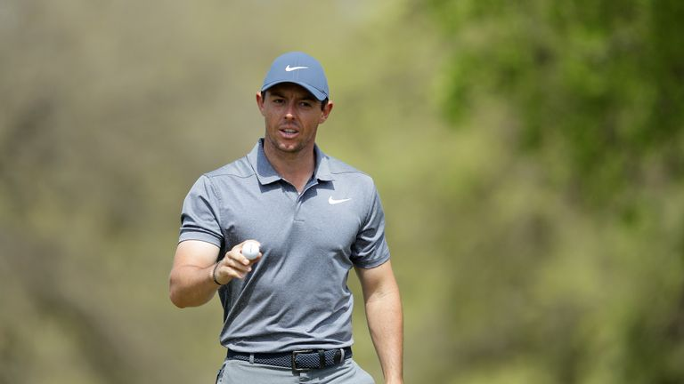 during the second round of the World Golf Championships-Dell Match Play at Austin Country Club on March 22, 2018 in Austin, Texas.
