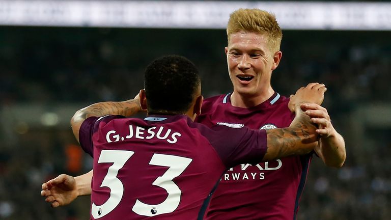 Kevin De Bruyne has made the most passes in the final third in the Premier League