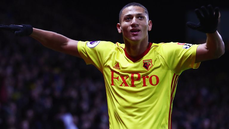 Richarlison has begun Everton medical