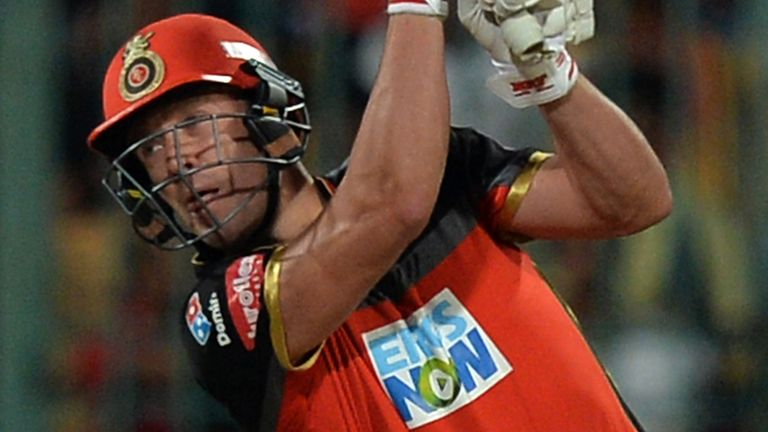 AB de Villiers has been in fine form for RCB in this year's IPL (Credit: AFP)