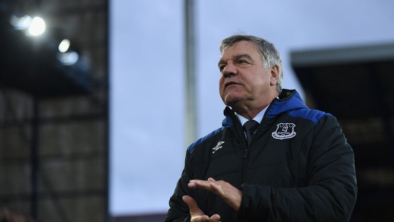 Everton appointed Sam Allardyce as Ronald Koeman's replacement