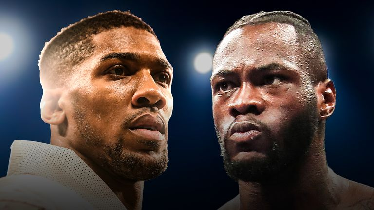 Deontay Wilder says he is willing to fight Anthony Joshua in the UK next