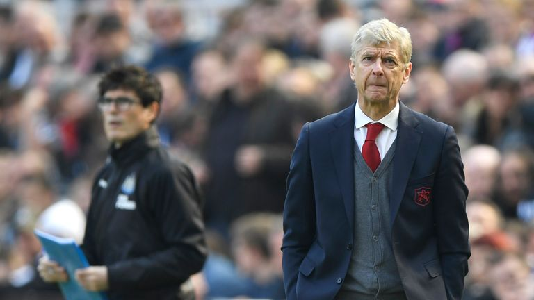 Arsene Wenger's side haven't won a game away from home in the league in 2018