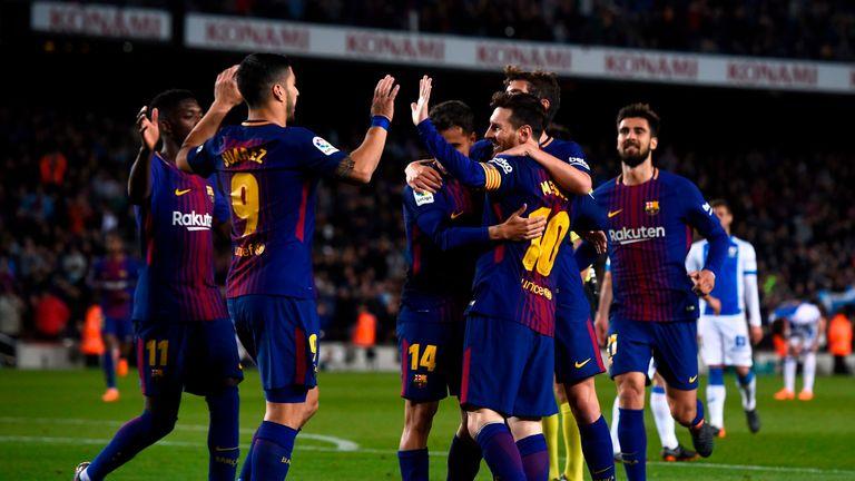 Barcelona are still unbeaten in La Liga this season