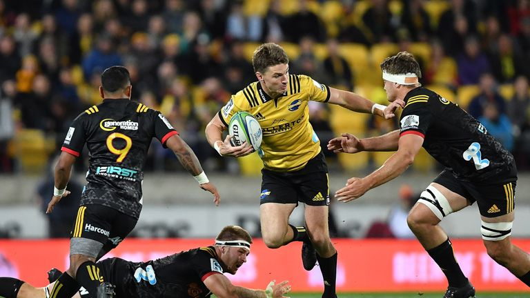 Beauden Barrett put in a superb display in Wellington as the Hurricanes overcame the Chiefs