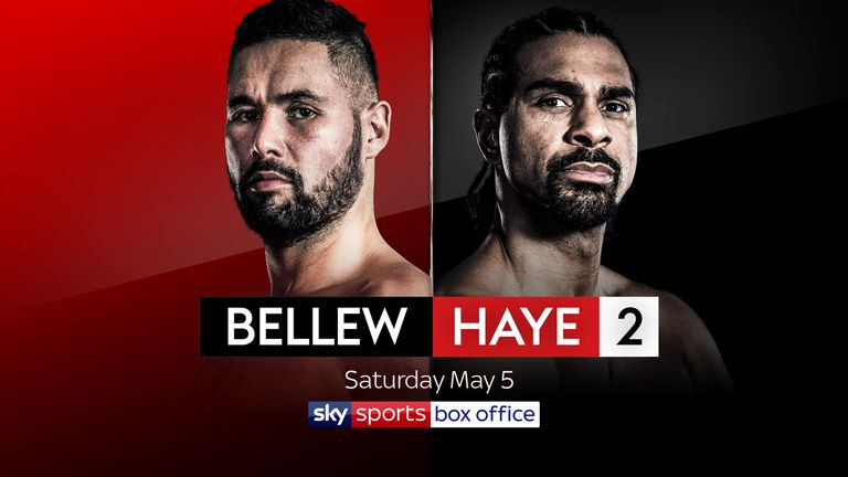 Bellew and Haye meet again at The O2 on May 5